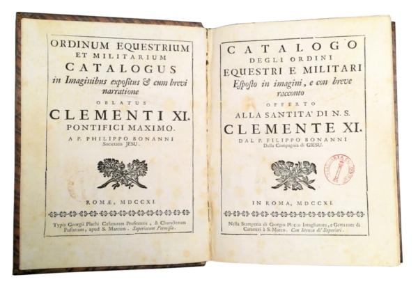 1193 - Buonanni, Ordinum Equestrium et Militarium Catalogus, 1711