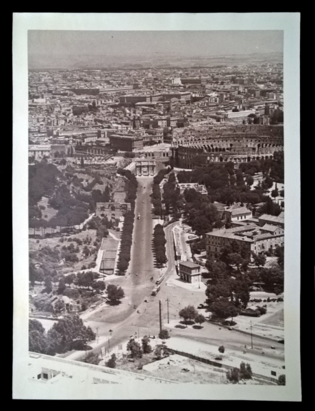 7005 - Foto aerea: Roma centro - Colosseo