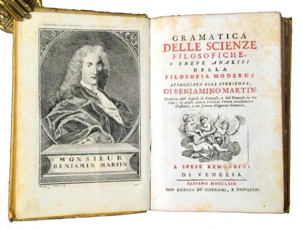 735 - Martin, Gramatica delle scienze filosofiche, 1769